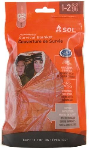 画像1: SOL Heatsheets Servival Blanket エスオーエル ヒートシート サバイバルブランケット (1)