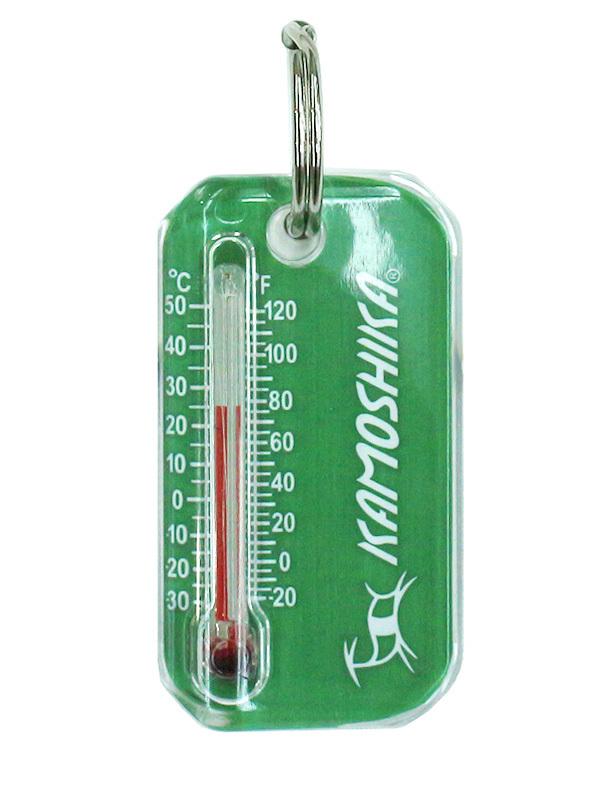 画像1: ZIP-O-GAGE カモシカロゴ入り温度計 (1)